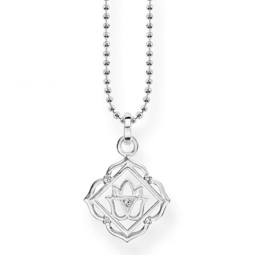 Thomas Sabo Silver Root Chakra Necklace