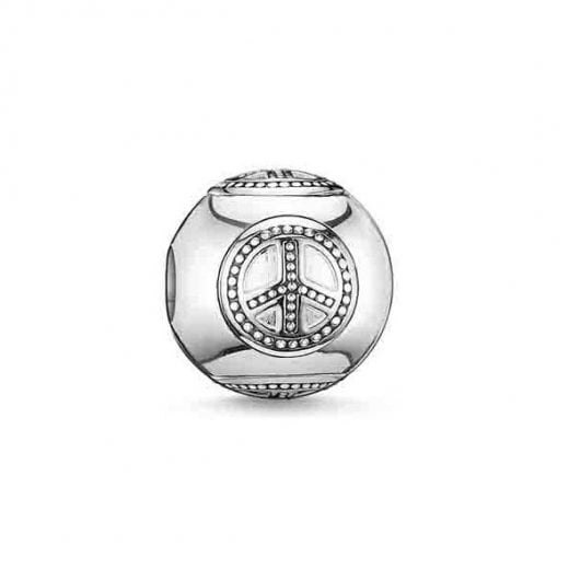 Thomas Sabo Sterling Silver Peace Karma Bead