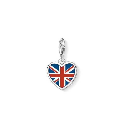 Thomas Sabo Charm Club Brit Heart Charm