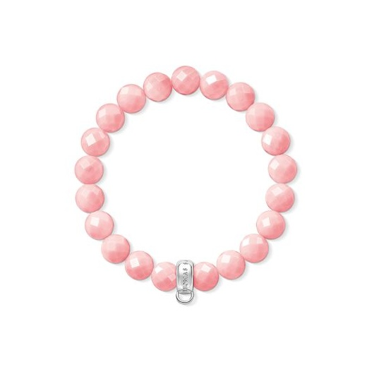 Thomas Sabo Charm Club Coral Bead Bracelet (Small)