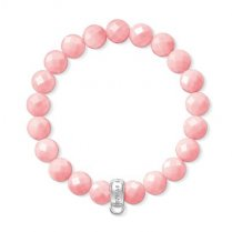 Charm Club Coral Bead Bracelet (Small)