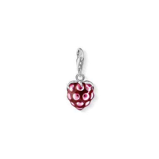 Thomas Sabo Charm Club Enamelled Raspberry