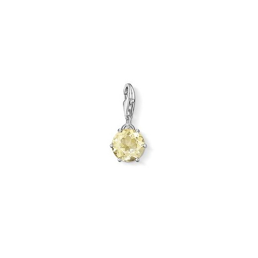 Thomas Sabo Charm Club Lemon Quartz November Birth Stone Charm