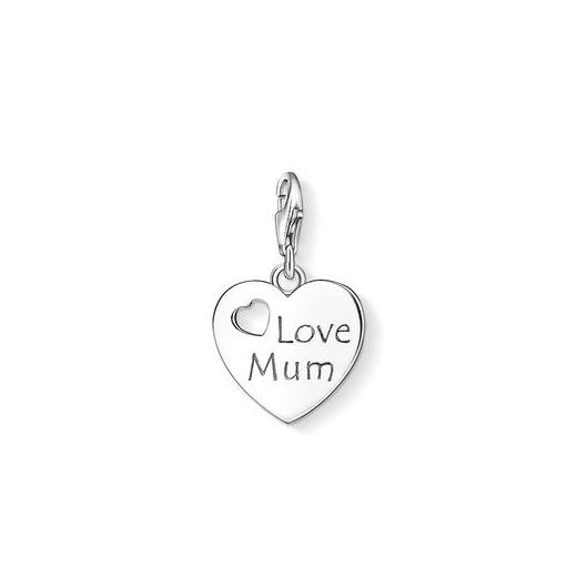 Thomas Sabo Charm Club Love Mum Heart Charm