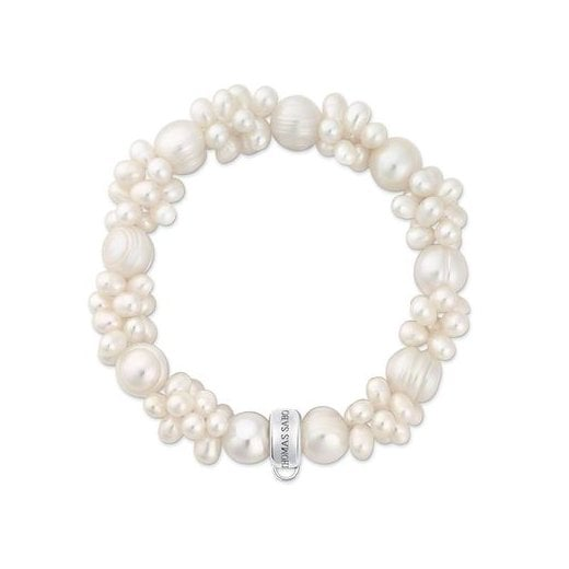 Thomas Sabo Charm Club Multi Pearl Bracelet (Medium)