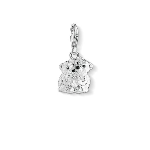 Thomas Sabo Charm Club Silver Bear Couple Charm