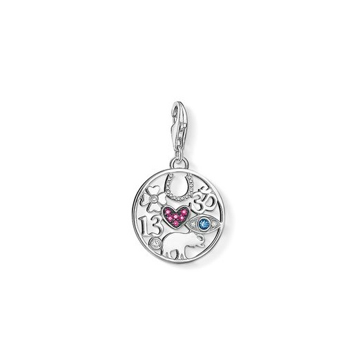Thomas Sabo Charm Club Silver CZ Luck Charm