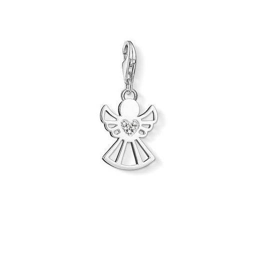 Thomas Sabo Charm Club Silver Diamond Angel Charm