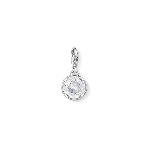 Thomas Sabo Charm Club White Zirconia Charm