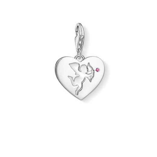 Thomas Sabo Cupid's Arrow Heart Charm