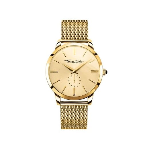 Thomas Sabo Gent's Gold Rebel Spirit Watch