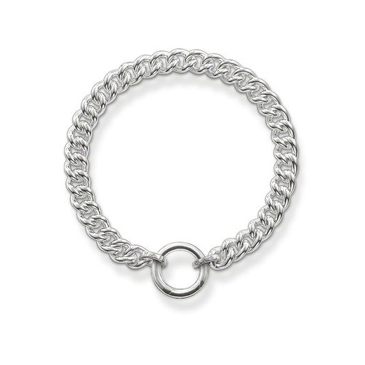 Thomas Sabo Glam & Soul Silver Curb Bracelet (Medium)