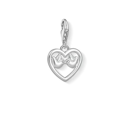 Thomas Sabo Heart with Doves Love Charm