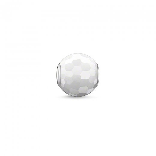 Thomas Sabo Karma Beads Faceted White Jade Bead