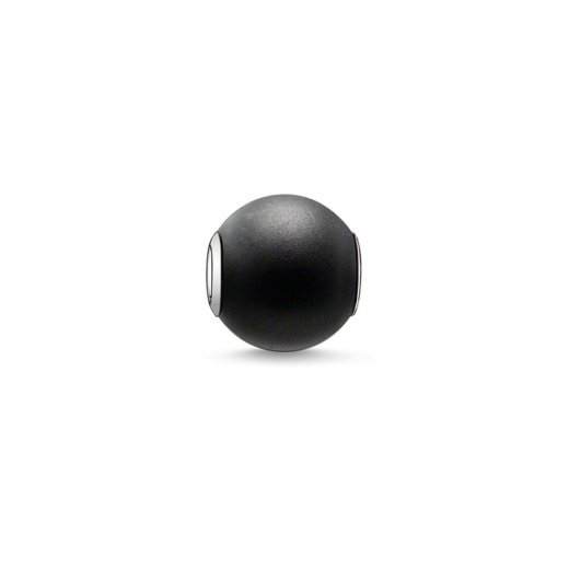 Thomas Sabo Karma Beads Matt Black Obsidian Bead