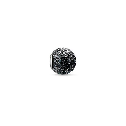 Thomas Sabo Karma Beads Pave Black Bead