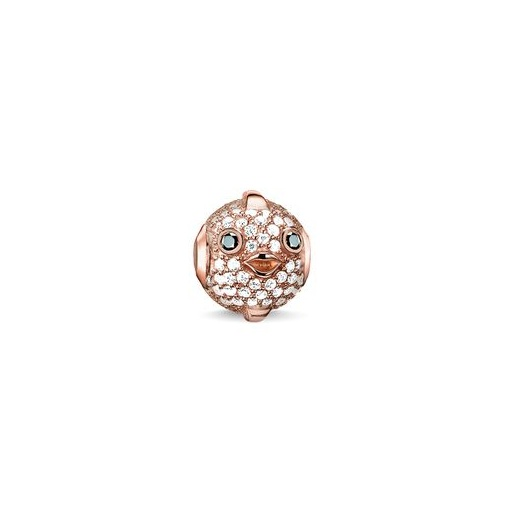 Thomas Sabo Karma Beads Pink Pufferfish Bead