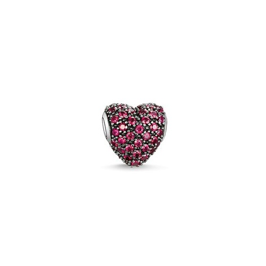 Thomas Sabo Karma Beads Red Pave Heart Bead