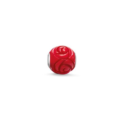 Thomas Sabo Karma Beads Red Rose Bead