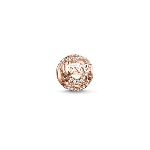 Thomas Sabo Karma Beads Rose Gold Love Bead