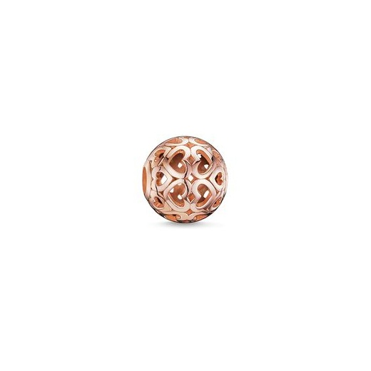 Thomas Sabo Karma Beads Rose Gold Plated Hearts Bead
