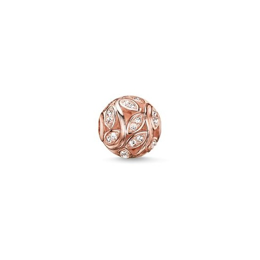 Thomas Sabo Karma Beads Rose Gold Plated Twines Bead