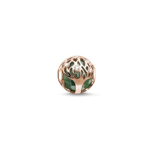 Thomas Sabo Karma Beads Rose Gold Tree Bead