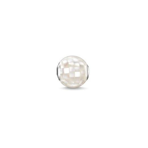 Thomas Sabo Karma Beads White Mother Of Pearl Bead