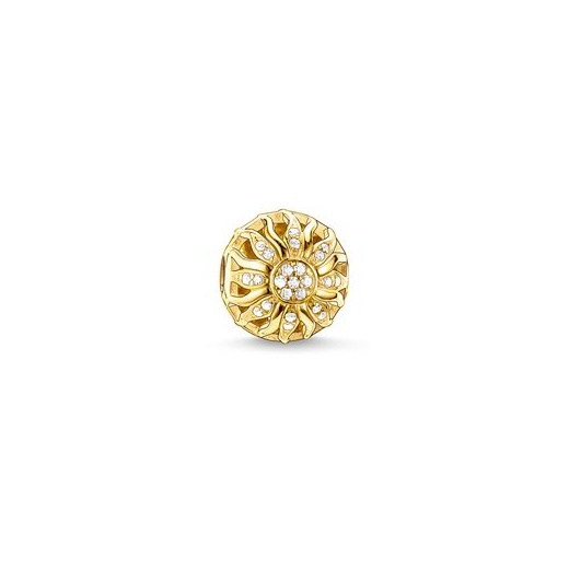 Thomas Sabo Karma Beads Yellow Gold Plated Glittering Sunshine Bead