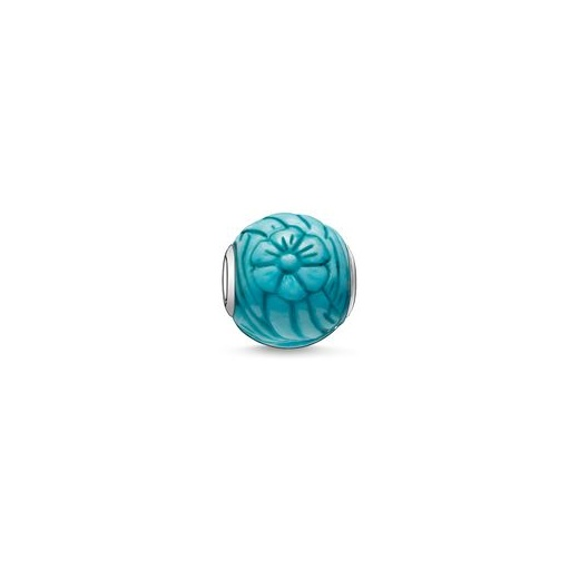 Thomas Sabo Karna Beads Howlite Sunflower Bead