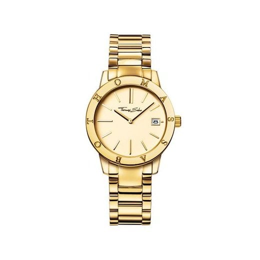 Thomas Sabo Ladies Glam & Soul Classic Yellow Gold Plated Watch