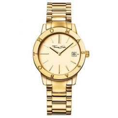 Ladies Glam & Soul Classic Yellow Gold Plated Watch