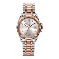 Ladies Glam & Soul Rose Gold & Stainless Steel Watch
