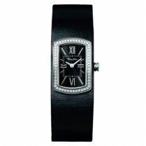 Ladies Glam & Soul Stainless Steel Rectangular Watch