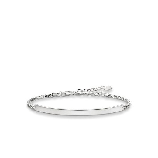 Thomas Sabo Love Bridge Blackened Silver Bracelet