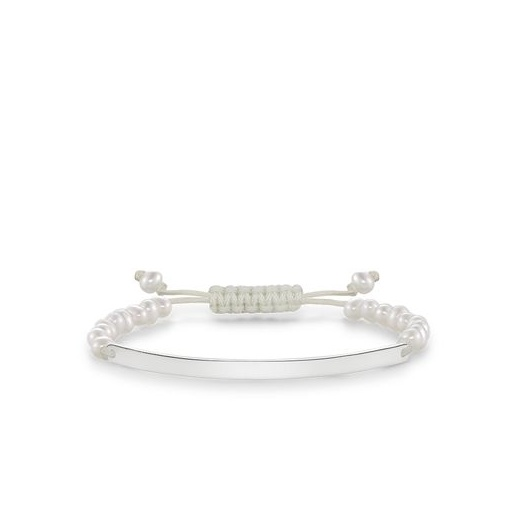 Thomas Sabo Love Bridge Cultivated Freshwater Pearls Adjustable Bracelet