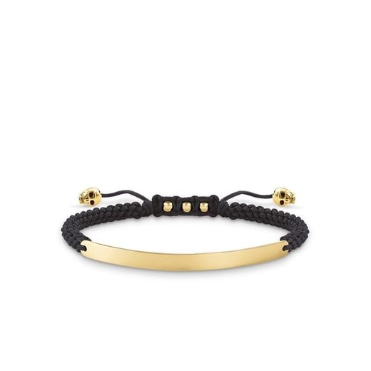 Thomas Sabo Love Bridge Skull Gold Bracelet
