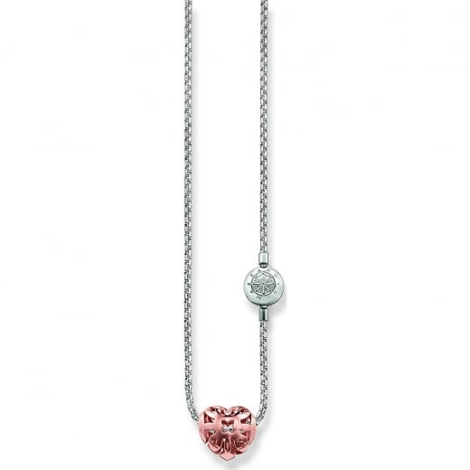 Thomas Sabo Mother's Day Karma Beads Necklace & Heart Bead