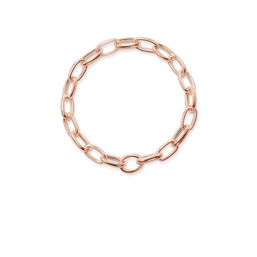 Thomas Sabo Rose Gold Link Bracelet (Medium)