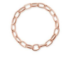 Rose Gold Link Bracelet (Medium)