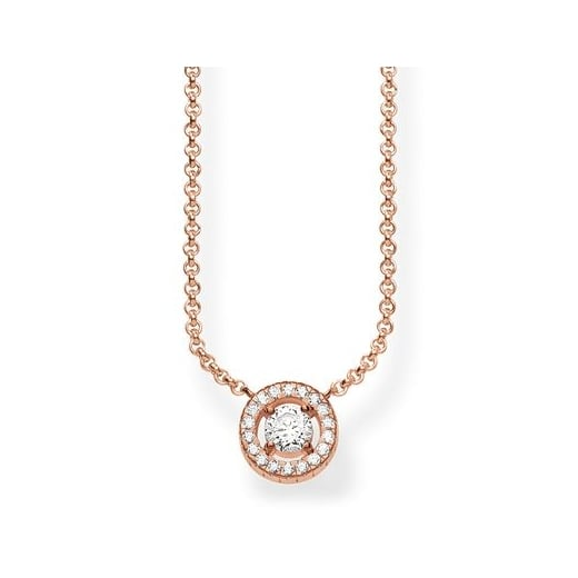 Thomas Sabo Rose Light of Luna Necklace