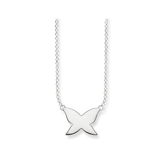Thomas Sabo Silver Butterfly Necklace