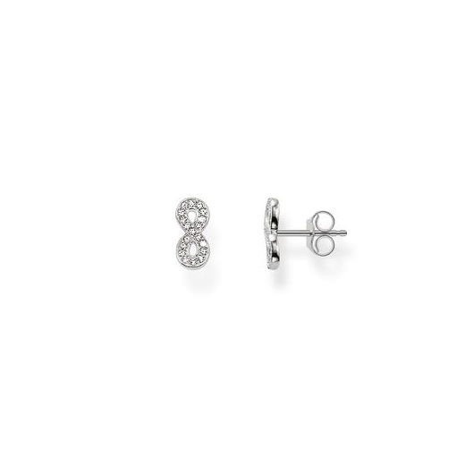 Thomas Sabo Silver & CZ Infinity of Love Studs
