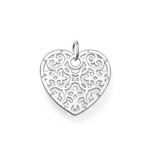 Silver filigree heart pendant thomas sabo clearwater diamonds thomas sabo silver filigree heart pendant mozeypictures Image collections