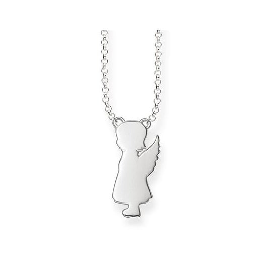 Thomas Sabo Silver Guardian Angel Girl Necklace