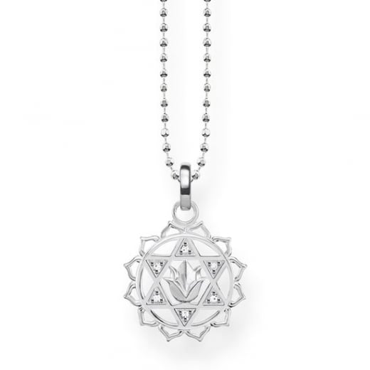 Thomas Sabo Silver Heart Chakra Necklace