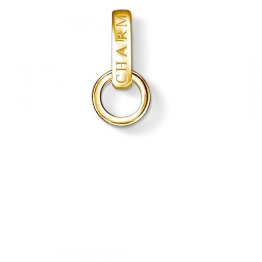 Thomas Sabo Yellow Gold Charm Club Carrier