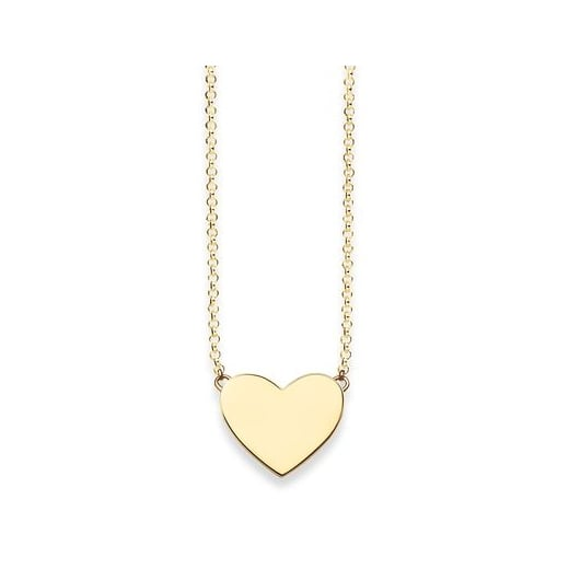 Thomas Sabo Yellow Gold Plated Heart Necklace