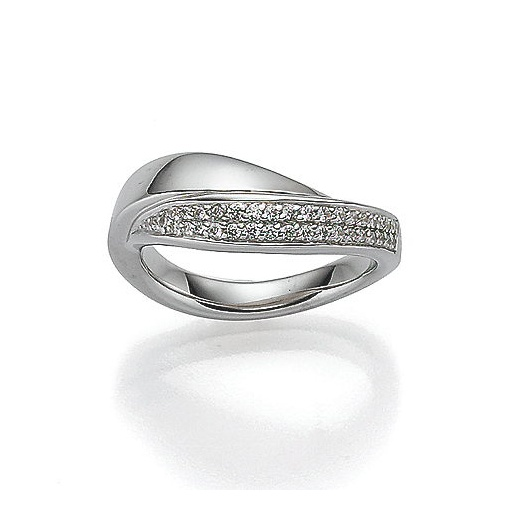 Viventy Woman's ring with cubic zirconia