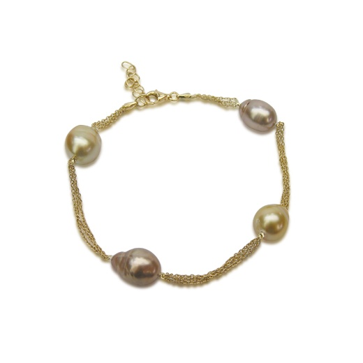Yvel Golden South Sea Pearl Bracelet
